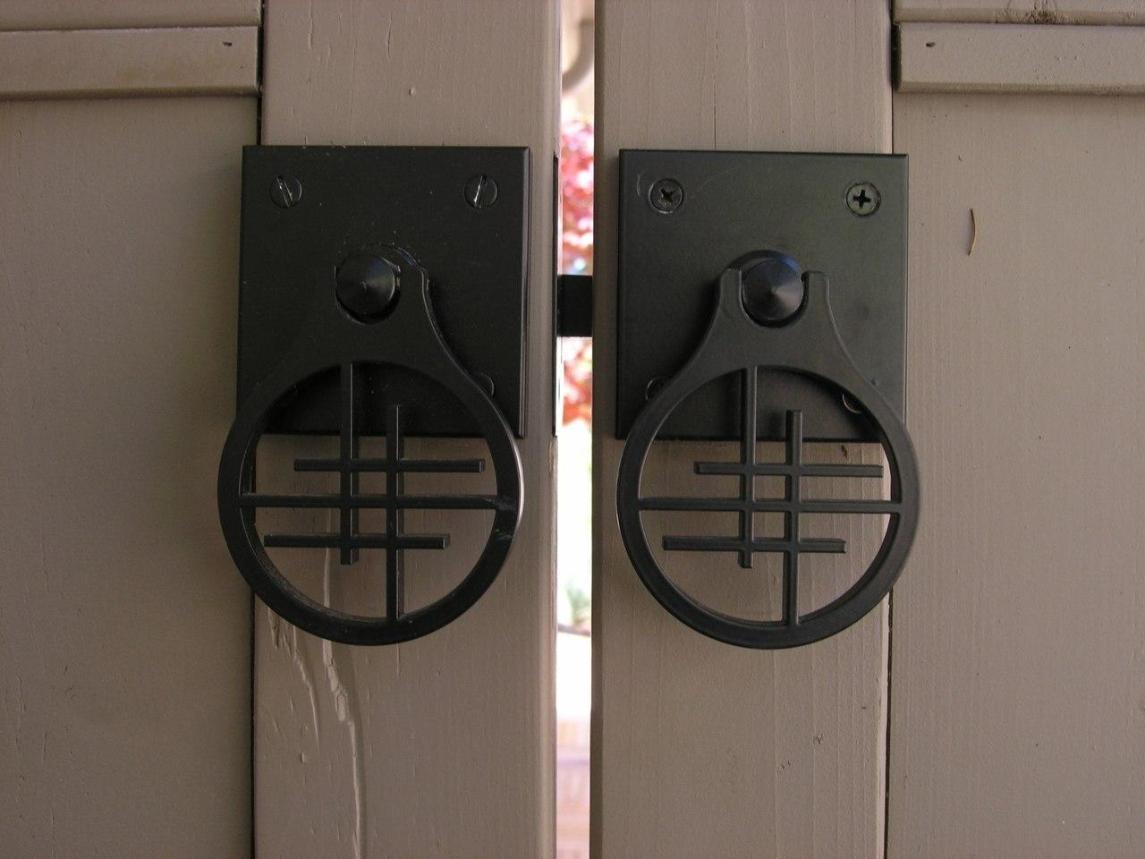 Asian Inspired Design Gate Latch 360 Yardware