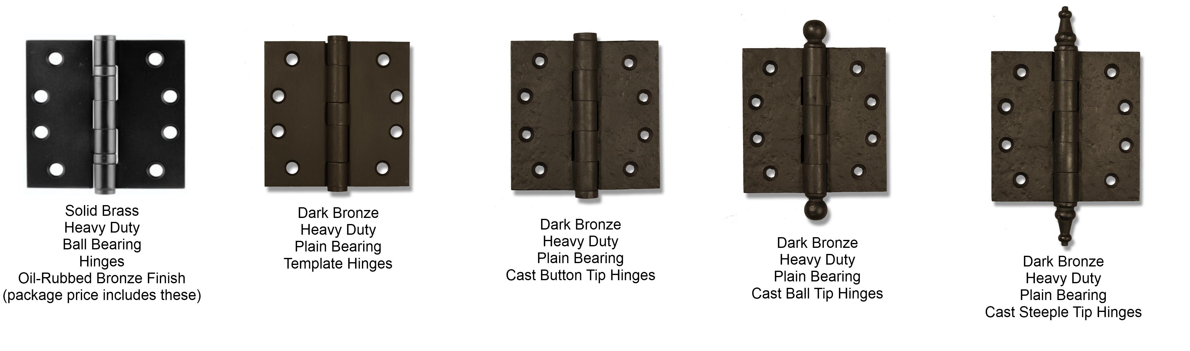 Merveilleux Coastal Bronze Hinge Options Gate Door Hardware